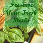 How To Preserve Your Fresh Herbs