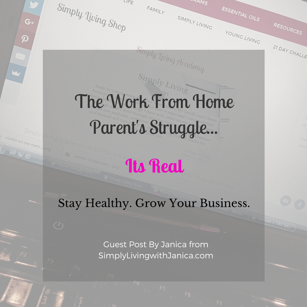 The Work From Home Parent's Struggle